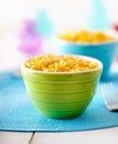 Macaroni and cheese - kids food Royalty Free Stock Photo