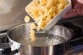 Macaroni italian food pasta Royalty Free Stock Photo