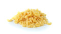 Macaroni pasta close up  on white background Royalty Free Stock Photo