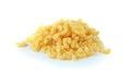 Macaroni pasta close up  on white background Royalty Free Stock Photo