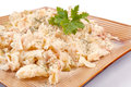 Macaroni with tuna Stock Images