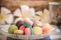 Picture : Macarons cake  top