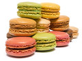 Picture : Macarons top view