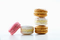 Macarons pile a Stock Photos