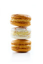 Macarons pile Stock Photography