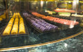 Macaroon display variety of colourful Royalty Free Stock Photo