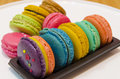 Macaroon funny with multi colored Royalty Free Stock Images