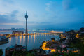 Macau tower Royalty Free Stock Photo