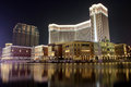 Macau : Venetian Hotel Royalty Free Stock Photography