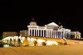 Macedonia square museum of archaeology skopje Stock Photo