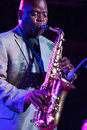 Maceo Parker Royalty Free Stock Photo
