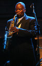 Maceo Parker live Royalty Free Stock Photo