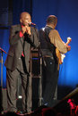 Maceo Parker on Stage Royalty Free Stock Photo