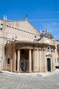 Macerata church. Marche. Italy. Stock Image