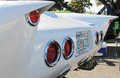 Mach five speedracer recreation car outdoors custom car Royalty Free Stock Photos
