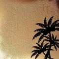 Machen Sie Sand nass Lizenzfreies Stockfoto