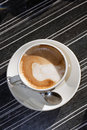 Machiato cup Royalty Free Stock Photography