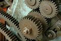 Machine Gears cogs Stock Image