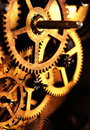 Machinery gears Stock Photo