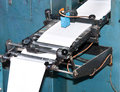 Machinery used for printing paper Stock Photography