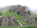 Machu Picchu from above Royalty Free Stock Image