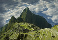 Machu-Picchu city in Peru Stock Images