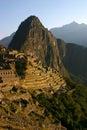 Machu Picchu at dawn Royalty Free Stock Photo