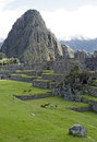 Machu picchu inca city of Royalty Free Stock Image