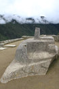 Machu picchu intihuatana hitching post of the sun Royalty Free Stock Photo