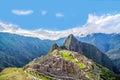 Machu Picchu Panorama Royalty Free Stock Photo