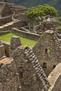 Machu Picchu in Peru Royalty Free Stock Images
