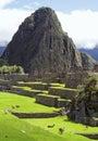 Machu picchu peru southa america a unesco world heritage Royalty Free Stock Images
