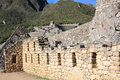 Machu Picchu ruins Stock Photos