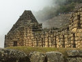 Machu Picchu Ruins in Peru Royalty Free Stock Photo