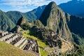 Machu Picchu ruins peruvian Andes  Cuzco Peru Royalty Free Stock Photo