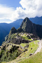 Machu Pichu in Peru Royalty Free Stock Photo