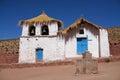 Machuca's Church, Atacama, Chile. Royalty Free Stock Photo