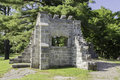 Mackenzie king estate ruins the of the located in gatineau park Royalty Free Stock Images