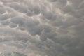 Mackerel sky Royalty Free Stock Photo