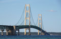 Mackinac Bridge Royalty Free Stock Photo