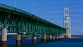 Mackinac Bridge, Mackinaw City Michigan Royalty Free Stock Photo