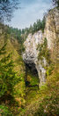 Macocha abyss the also known as the gorge is a sinkhole in the moravian karst cave system of the czech republic located Stock Image
