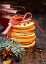 Macro Arranged Pancakes For Ho...