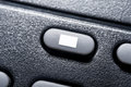 Macro Of A Black Stop Button On Black Remote Control For A Hifi Stereo Audio System Royalty Free Stock Photo