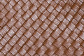 Macro of brown leather detail Stock Images