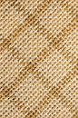 Macro checked fabric texture background of cotton diagonal lines Stock Images