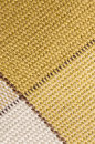 Macro checked fabric texture background of cotton diagonal lines Stock Image