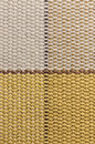 Macro checked fabric texture background of cotton horizontal and vertical lines Royalty Free Stock Images