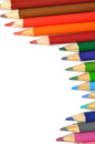 Macro colorful pen Royalty Free Stock Photos