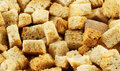 Macro of crouton Royalty Free Stock Image